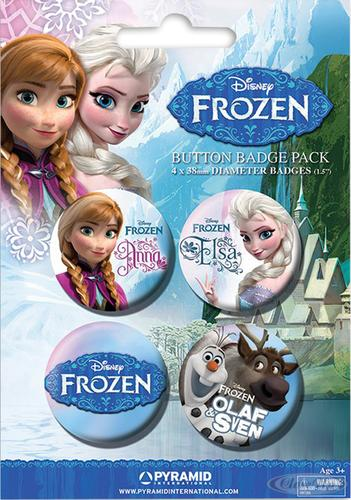 Frozen-Button-Set-Die-Eiskoenigin-4-teilig