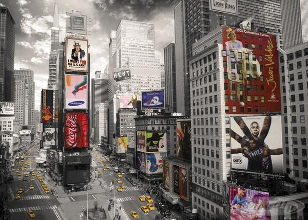 Times-Square-XXL-Poster-Scenic-Cities-New-York-und-ein-U-Poster-geschenkt