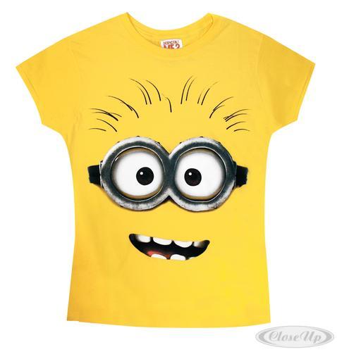 Despicable-Me-Teil-2-GirlieShirt-gelb-100-Baumwolle