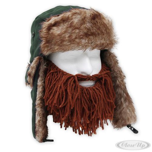 bartm tze beard head barbarian trapper m tze mit abnehmbarem bart 100 p ebay. Black Bedroom Furniture Sets. Home Design Ideas