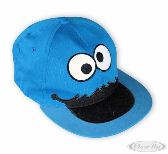 Sesamstrasse-Baseballcap-Kruemelmonster-Cookie-Monster
