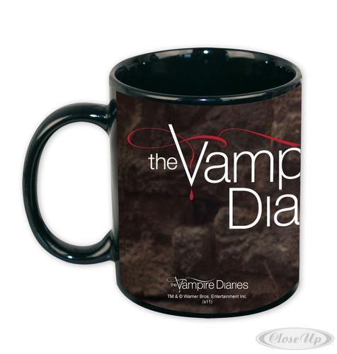 the vampire diaries tasse ian somerhalder schwarz aus keramik ebay. Black Bedroom Furniture Sets. Home Design Ideas