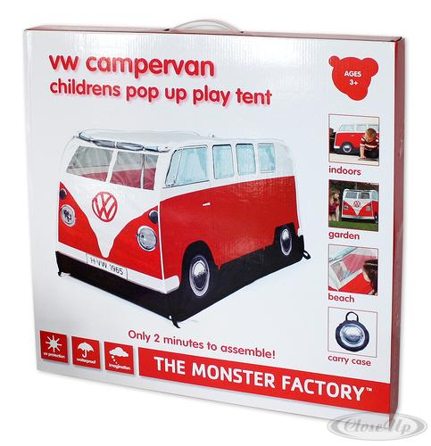 vw bully spiele wurfzelt rot f r kinder ebay. Black Bedroom Furniture Sets. Home Design Ideas