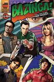 The Big Bang Theory Poster Bazinga! Comic