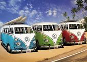 VW Bus Transporter XXL Poster 3 California Campers
