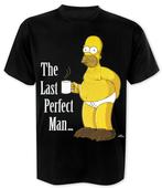The Simpsons T-Shirt Homer Simpson Last Perfect Man