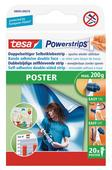 TESA Powerstrips© adh&eacutesif mousse double face