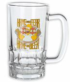 The Simpsons Bierkrug Homer Have No Fear, Have a Beer!