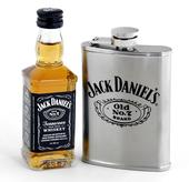 Jack Daniel's Flachman Set Old No. 7 Plus
