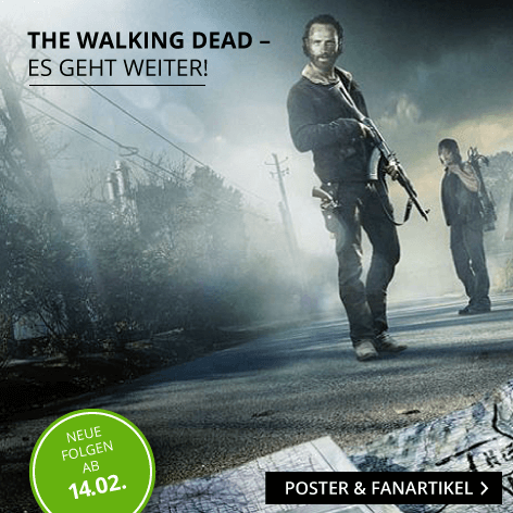 The Walking Dead Poster und Fanartikel Shop