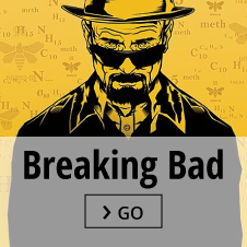Breaking Bad posters and merchandise