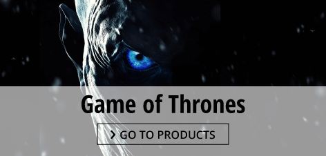 Game of Thrones posters and merchandise