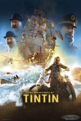 Die Abenteuer von Tim und Struppi Poster, Haupt...