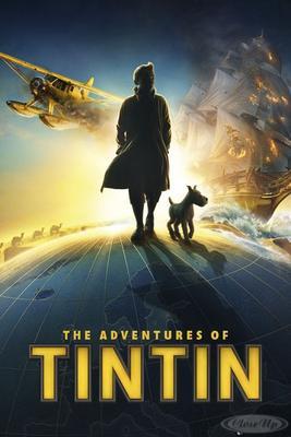 Die Abenteuer von Tim und Struppi Poster Silhou...