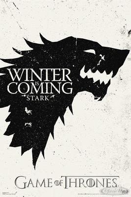 Game of Thrones Poster Winter is Coming (Stark)