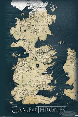 Game of Thrones Poster Die sieben Königreiche