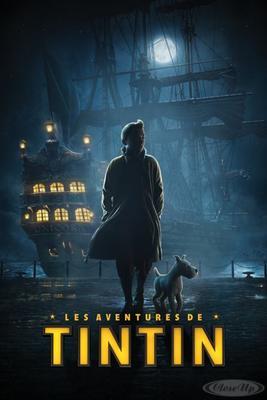 Die Abenteuer von Tim und Struppi Poster Hafen