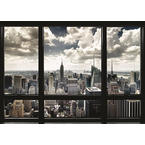 New York Poster Skyline