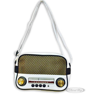 shoulder bag retro radio,