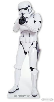 Star Wars Pappaufsteller Stormtrooper