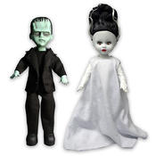 Living Dead Dolls Universal Monsters Frankenstein & Bride