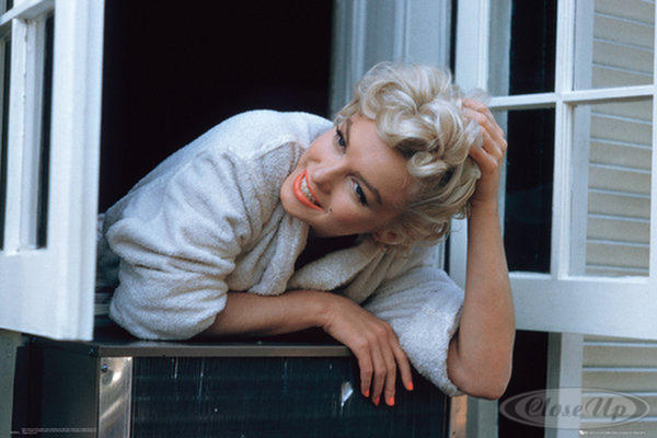 Marilyn Monroe Fenster Poster Window