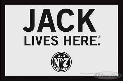 Jack Daniel´s Spiegel Jack Lives Here Classic