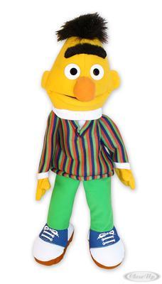 Sesamstrasse Plüschfigur Bert Handspielpuppe   Kinderzimmer > Spielzeuge > Stofftiere