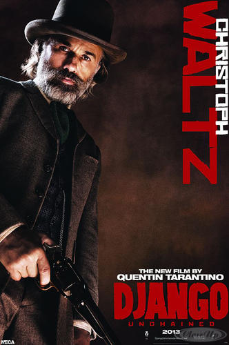 Django Unchained Poster Dr. King Schultz Christoph Waltz