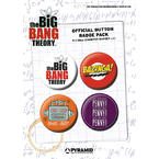 The Big Bang Theory Button Set