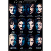 Game Of Thrones Poster Season 3 All Characters