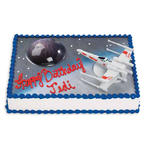 Star Wars cake decoration set