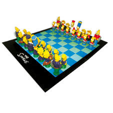 The Simpsons Chess Game