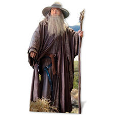 The Hobbit cardboard cutout