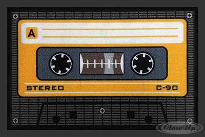 Tape Fußmatte Kassette / Tape Orange | Heimtextilien > Fussmatten | Orange