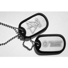 Titanfall Dog Tag necklace