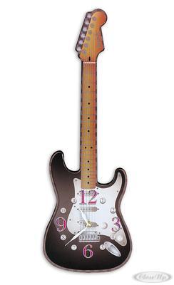 Bilderwanduhr Gitarre Ted Smith | Dekoration > Uhren > Wanduhren
