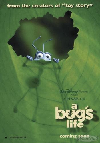 A Bug&acute;s Life Poster