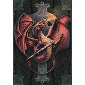 Anne Stokes Celtic Dragon  Poster