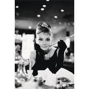 Audrey Hepburn Poster Breakfast at Tiffany's