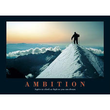Ambition Mountain Poster