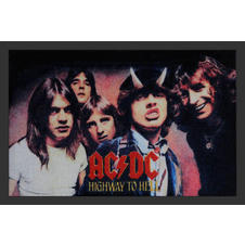 AC/DC Fußmatte Highway to