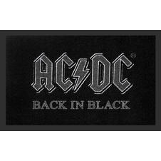 AC/DC Fußmatte Back in Black