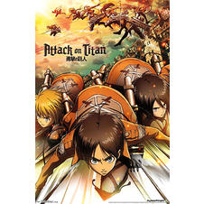 Attack On Titans Poster