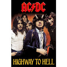 "AC/DC ""Highway to Hell"" Poster"