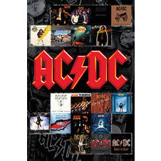 AC/DC Poster Album Covers