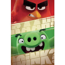 Angry Birds Poster RAAH!