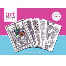 "Art Therapy ""Flowers"" (6 pieces)"
