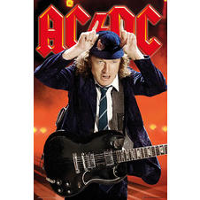 AC/DC Poster - Live