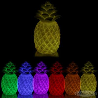 Ananasleuchte mit Farbwechsel